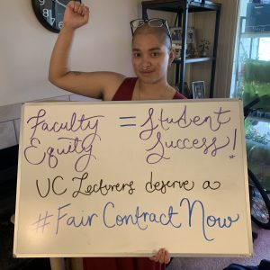 Faculty Equity = Student Success! UC Lecturers deserve a