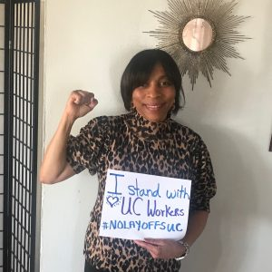 I stand with UC workers