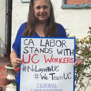 California labor stands with UC workers